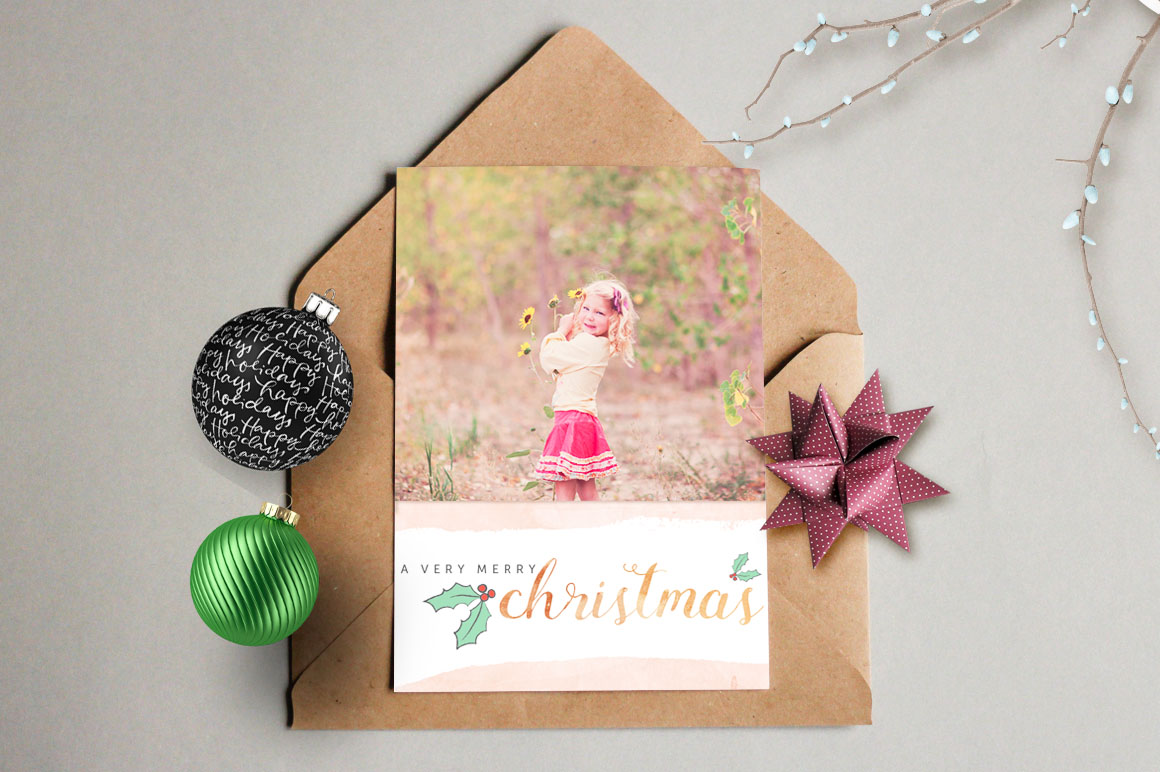 Design your own Christmas Cards example image 4