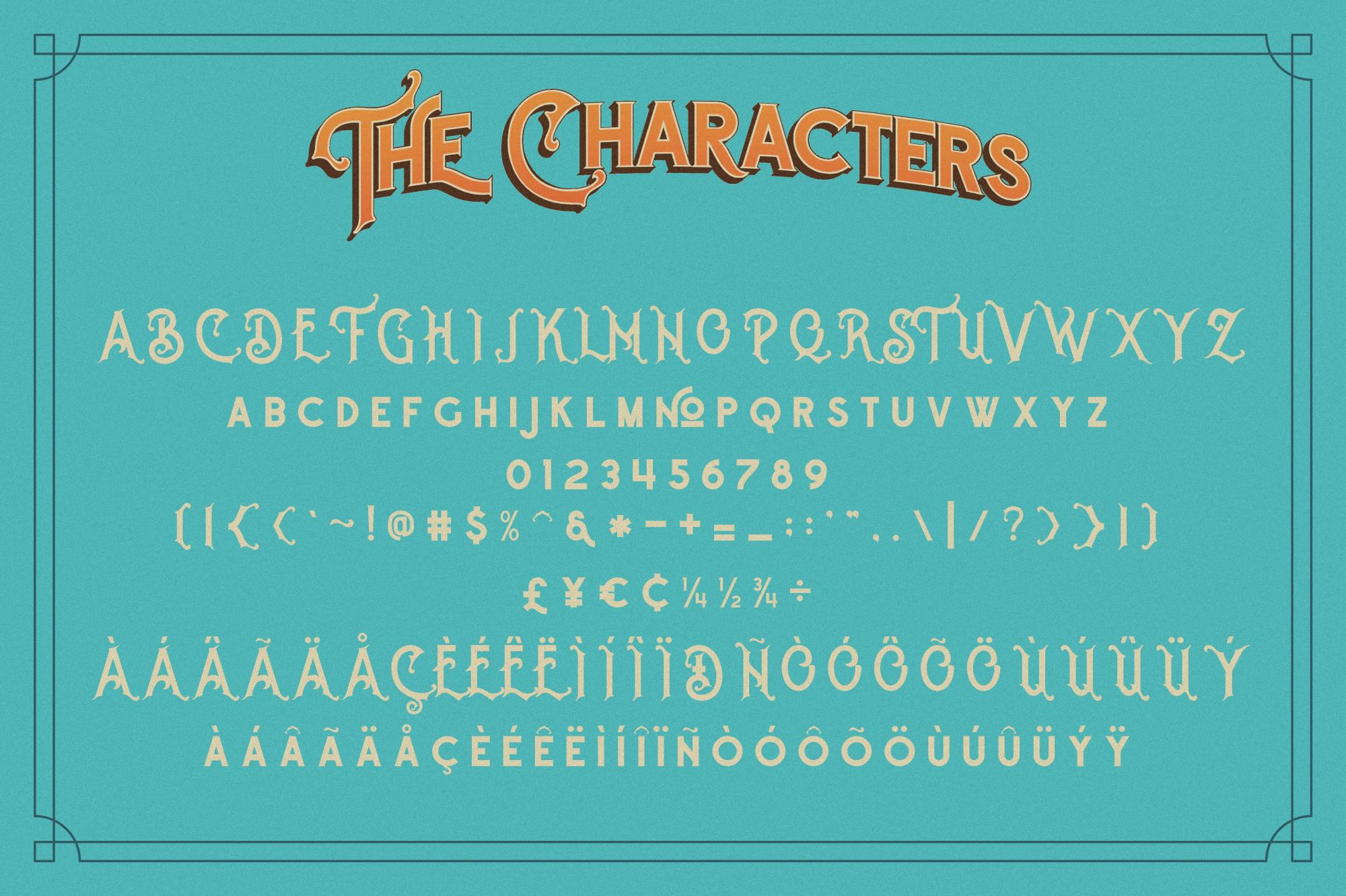 The Witch Typeface example image 3