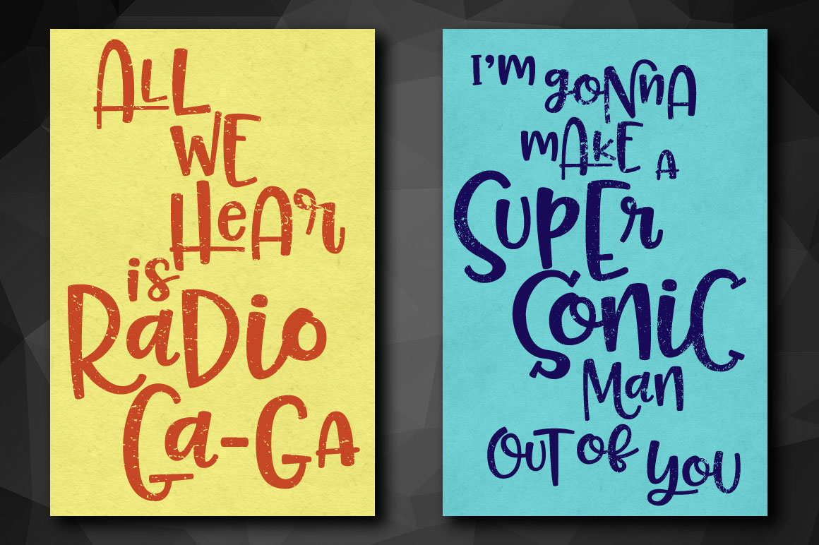 Pinsetter: greeting card or poster print mockup idea