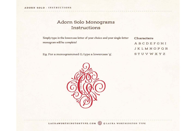 Adorn Solo example image 4