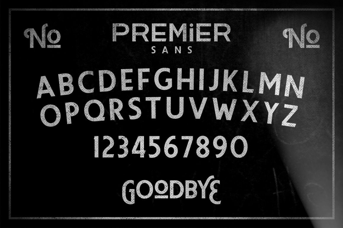 Premier Sans example image 3