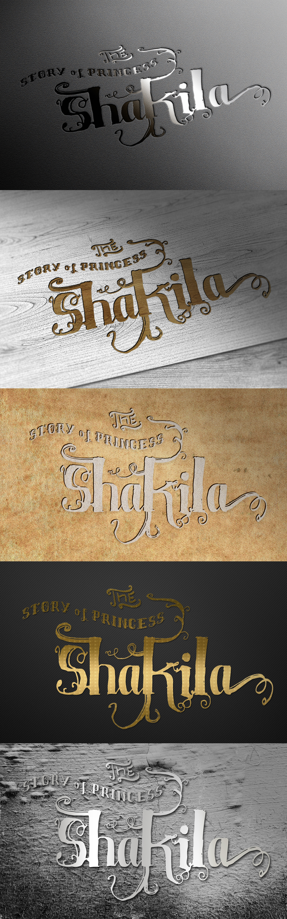 Shakila Typeface Hand Drawn Ornament example image 3