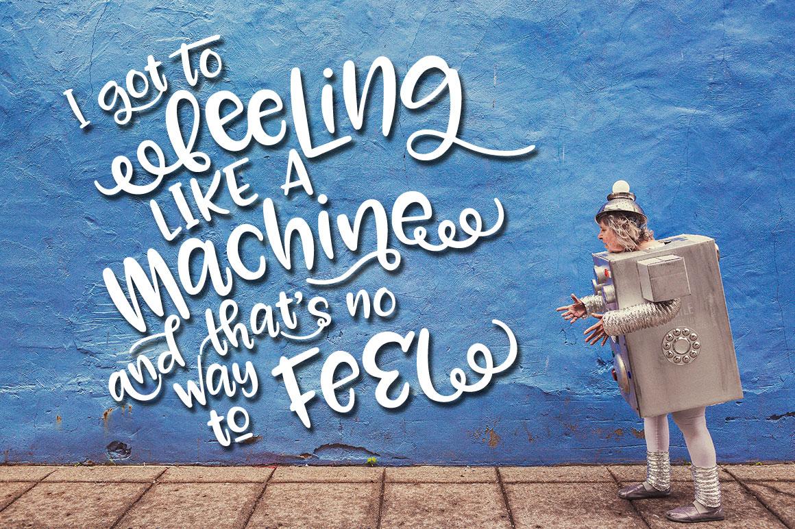 Zooky Squash - machine poster mockup