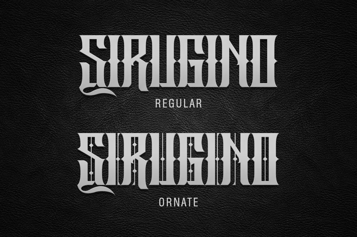 Sirugino Typeface example image 5