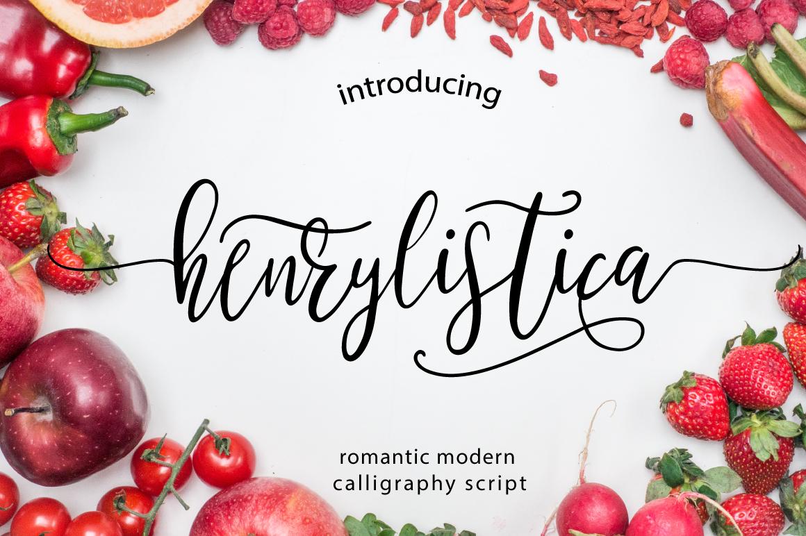 Henrylistica Script example image 1