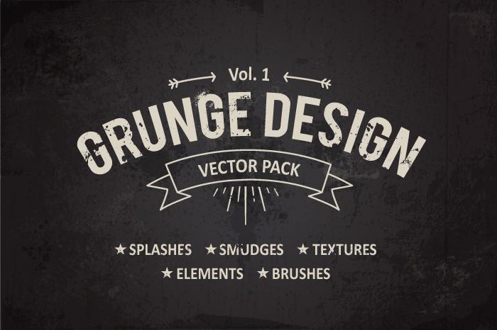 Grunge Design Elements example image 1