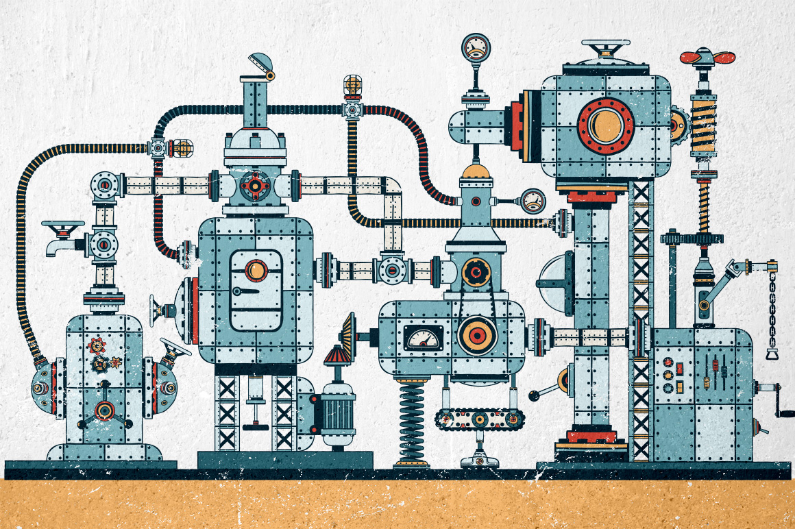 Fantastic Machines Construction Kit example image 6