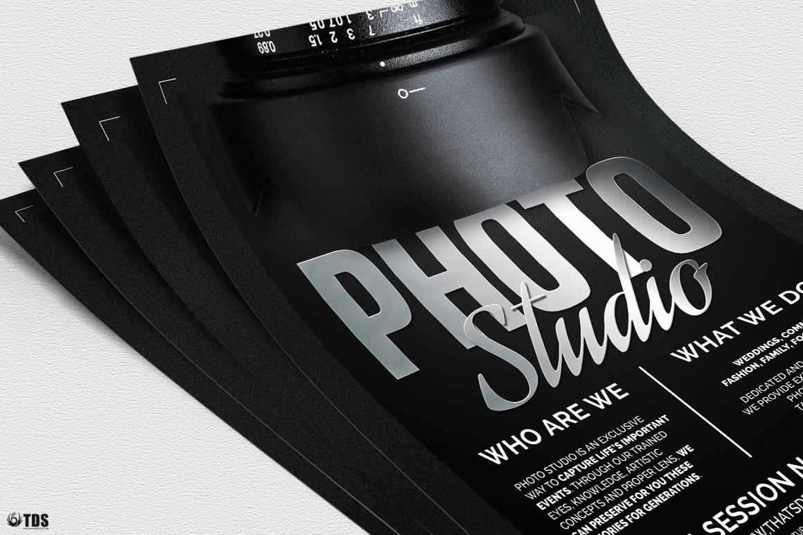 Photo Studio Flyer Template V2 example image 5