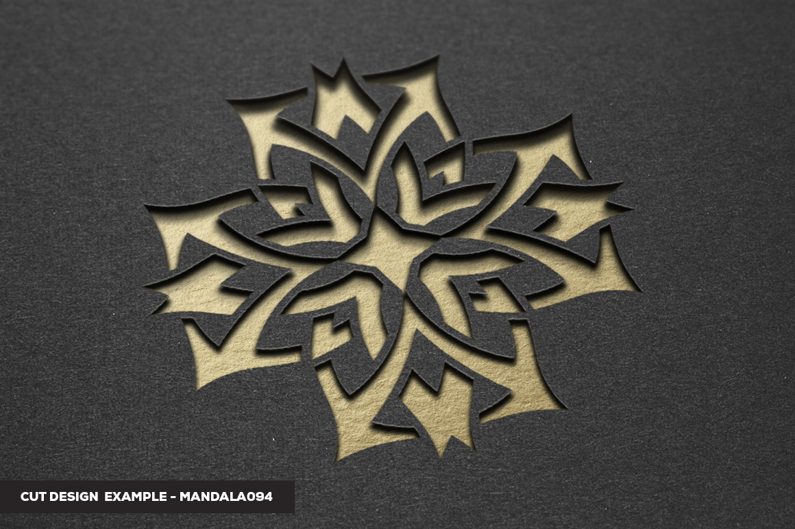 500 Vector Mandala Ornaments example image 30