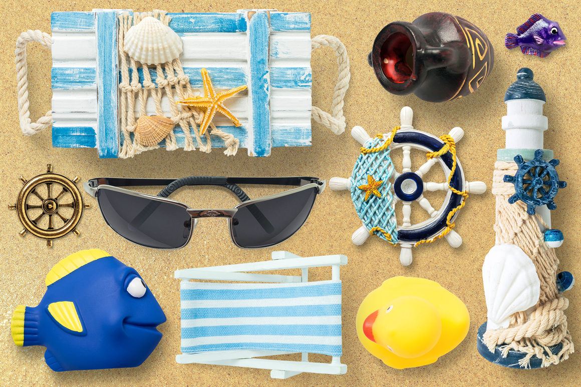 Isolated Summer Items example image 2