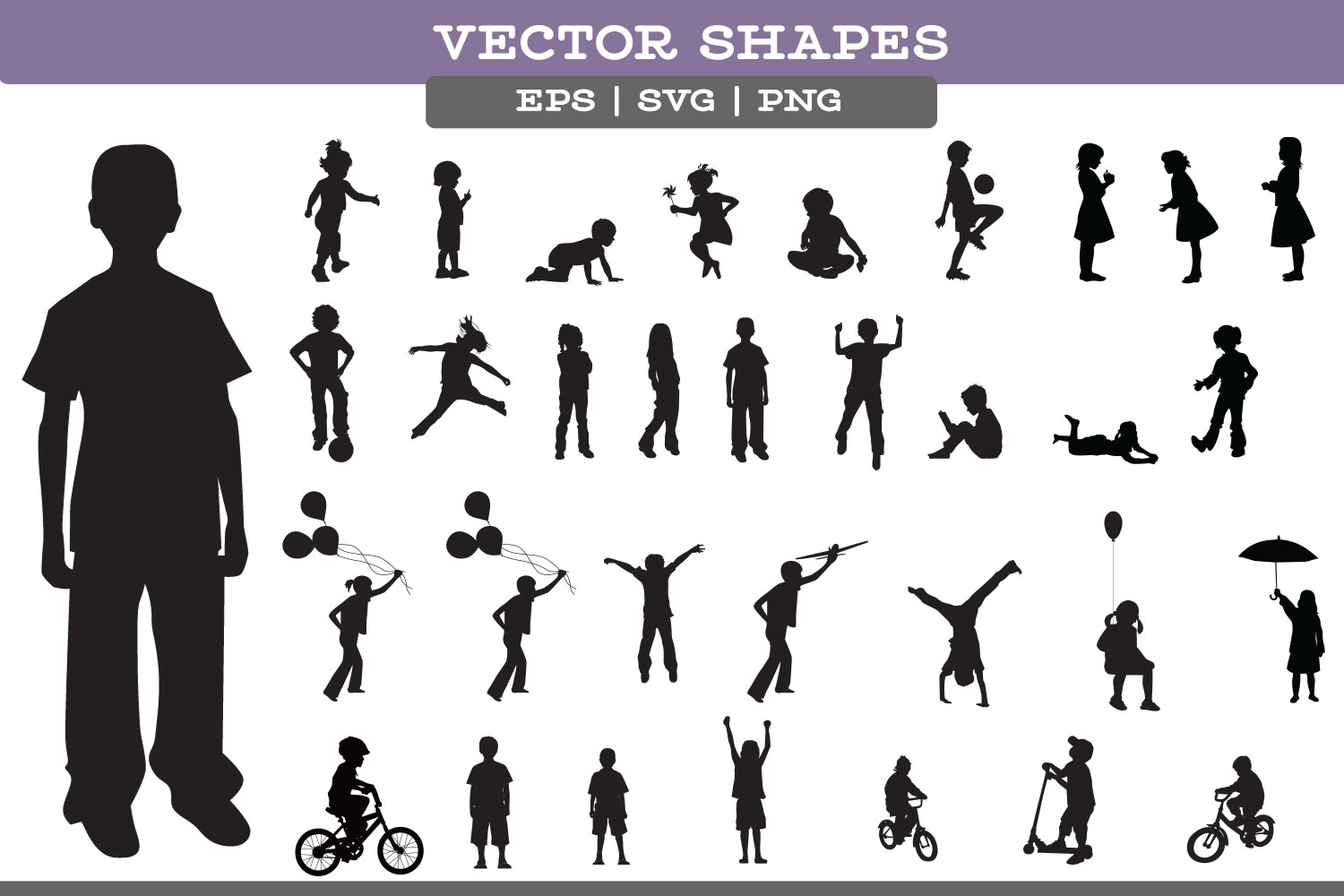 Child Silhouettes example image 2