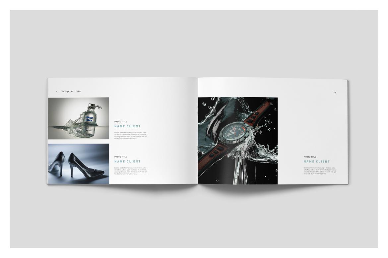 Graphic Design Portfolio Template by tu   Design Bundles