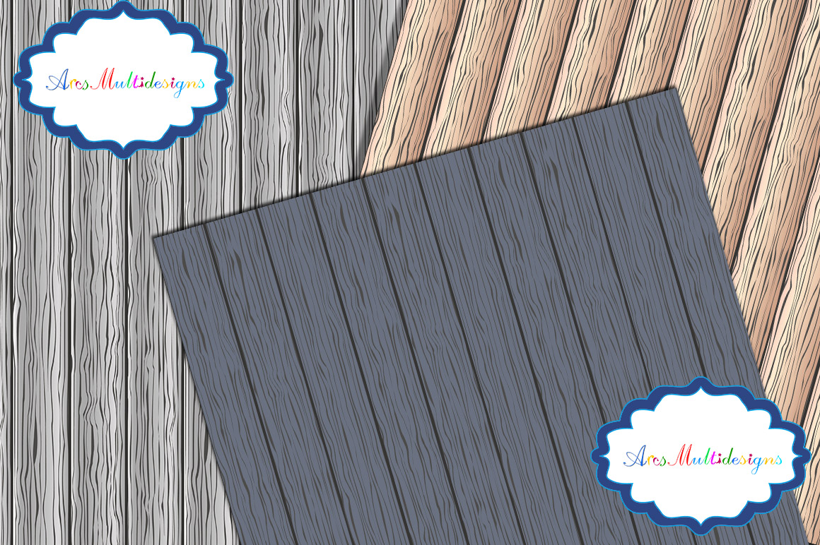 Wood digital paper / wood digital pattern / wood digital background / wood texture / wood / high quality 12 x 12 example image 2