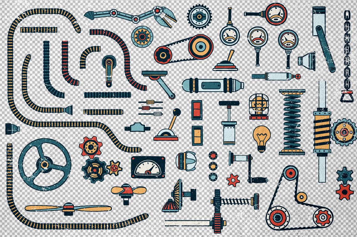 Fantastic Machines Construction Kit example image 4