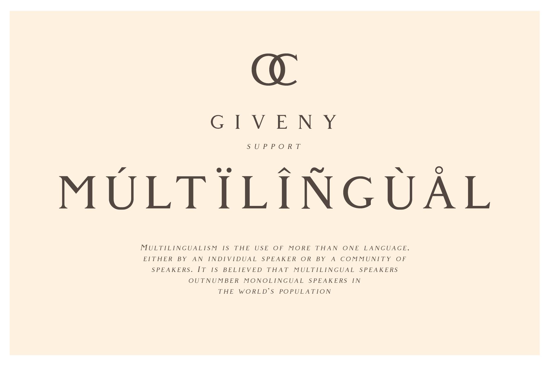 Giveny - Classy Serif Font example image 7