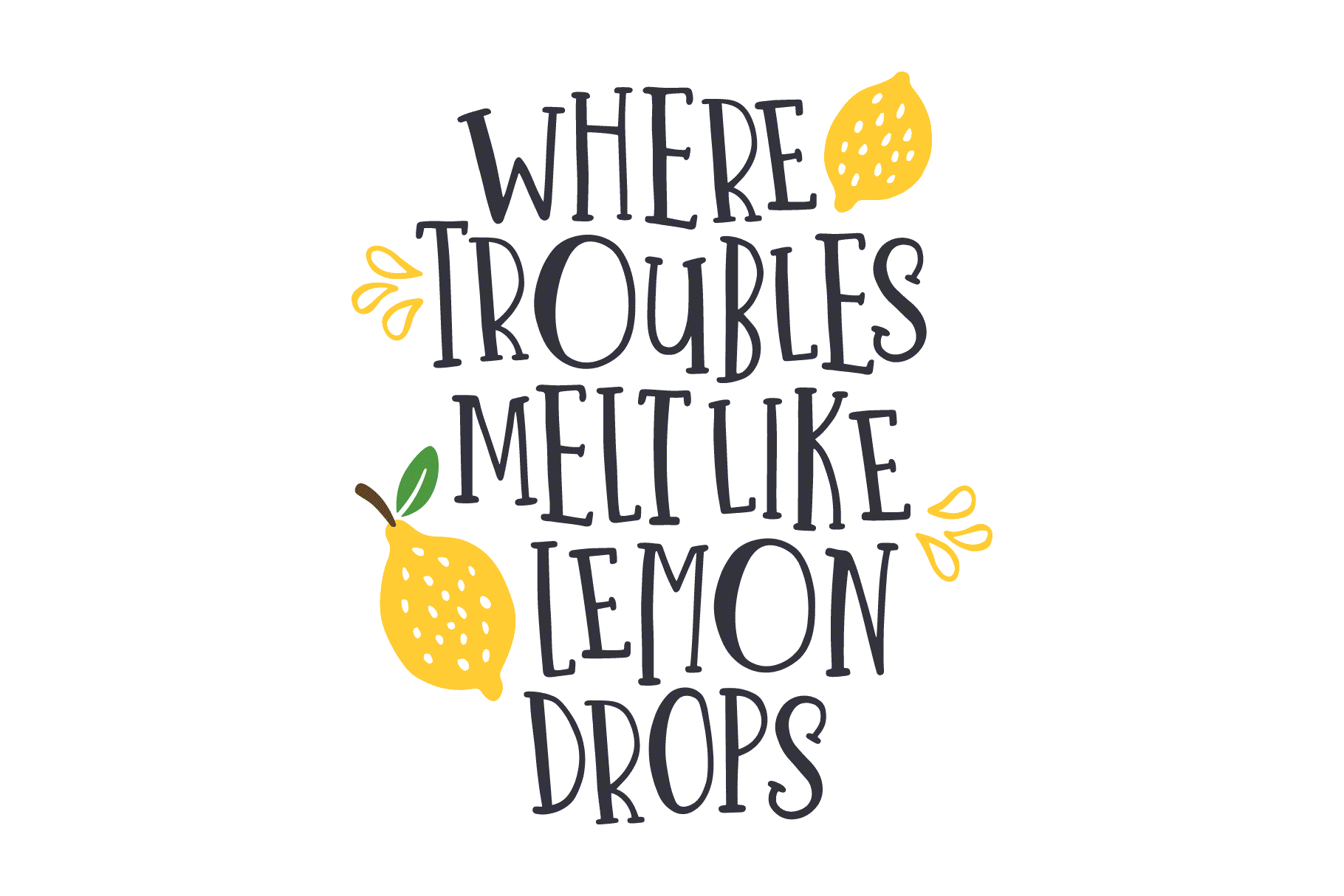 One in a Melon Font + Doodles! example image 3
