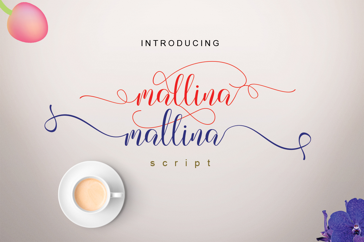 Mallina Script example image 1