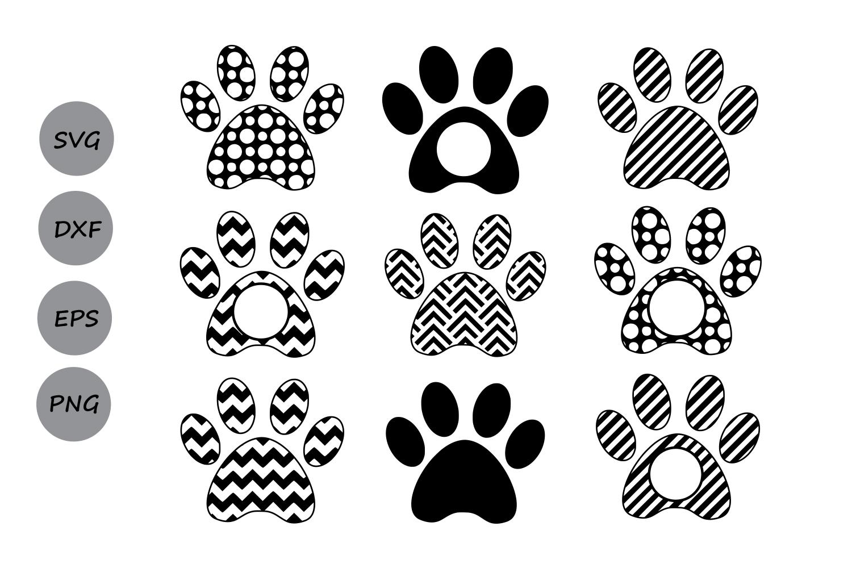 Famous Dog Paw Print Svg #FK76 – Advancedmassagebysara