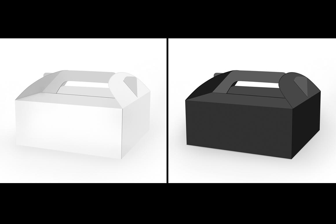 Cake Box Mockup example image 3