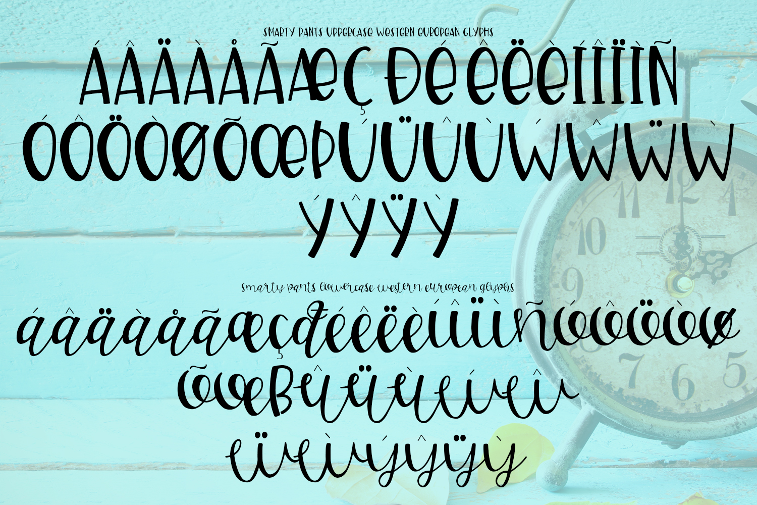 Smarty Pants Font Duo example image 2