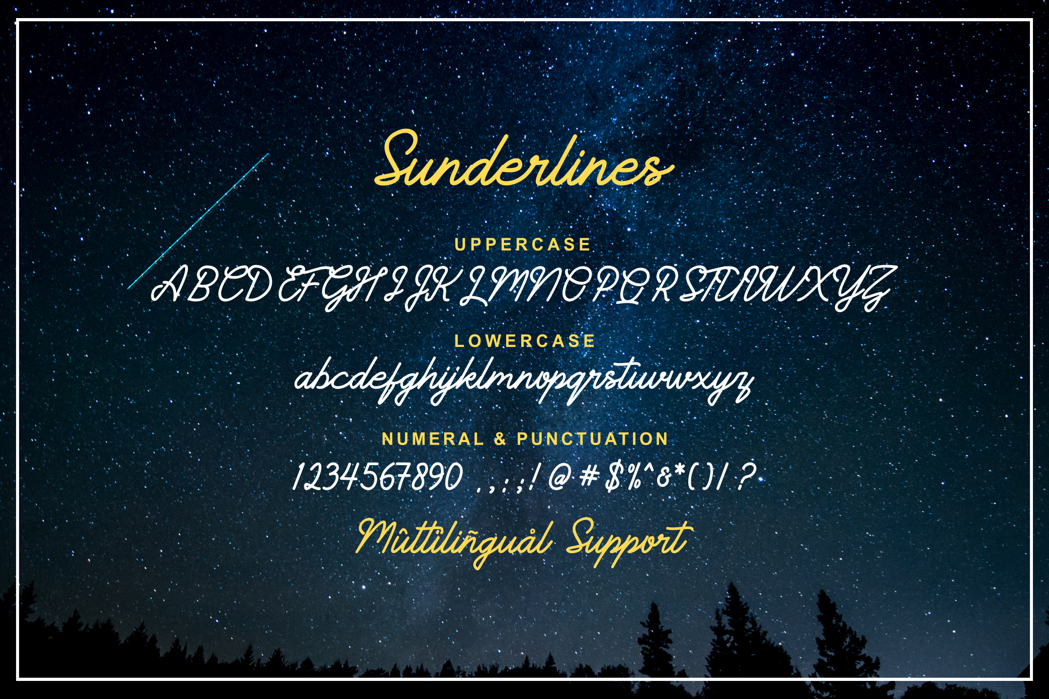 Sunderlines - Script and Sanserif example image 9