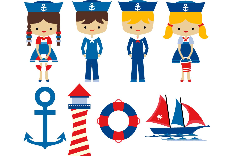 nautical clipart sailor kids lighth design bundles rh designbundles net sailor clipart png baby boy sailor clipart