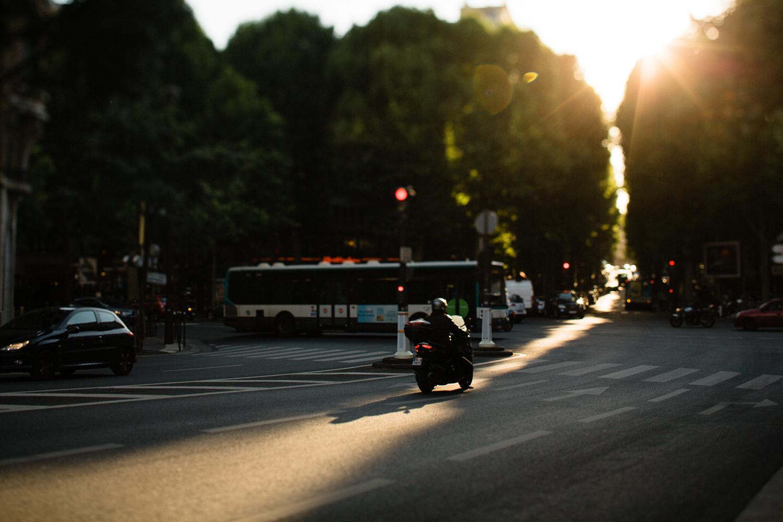 Sunset in Paris example image 1