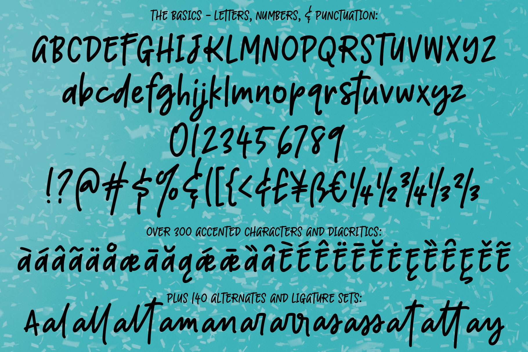 Boisterous! A casual handwriting font example image 2