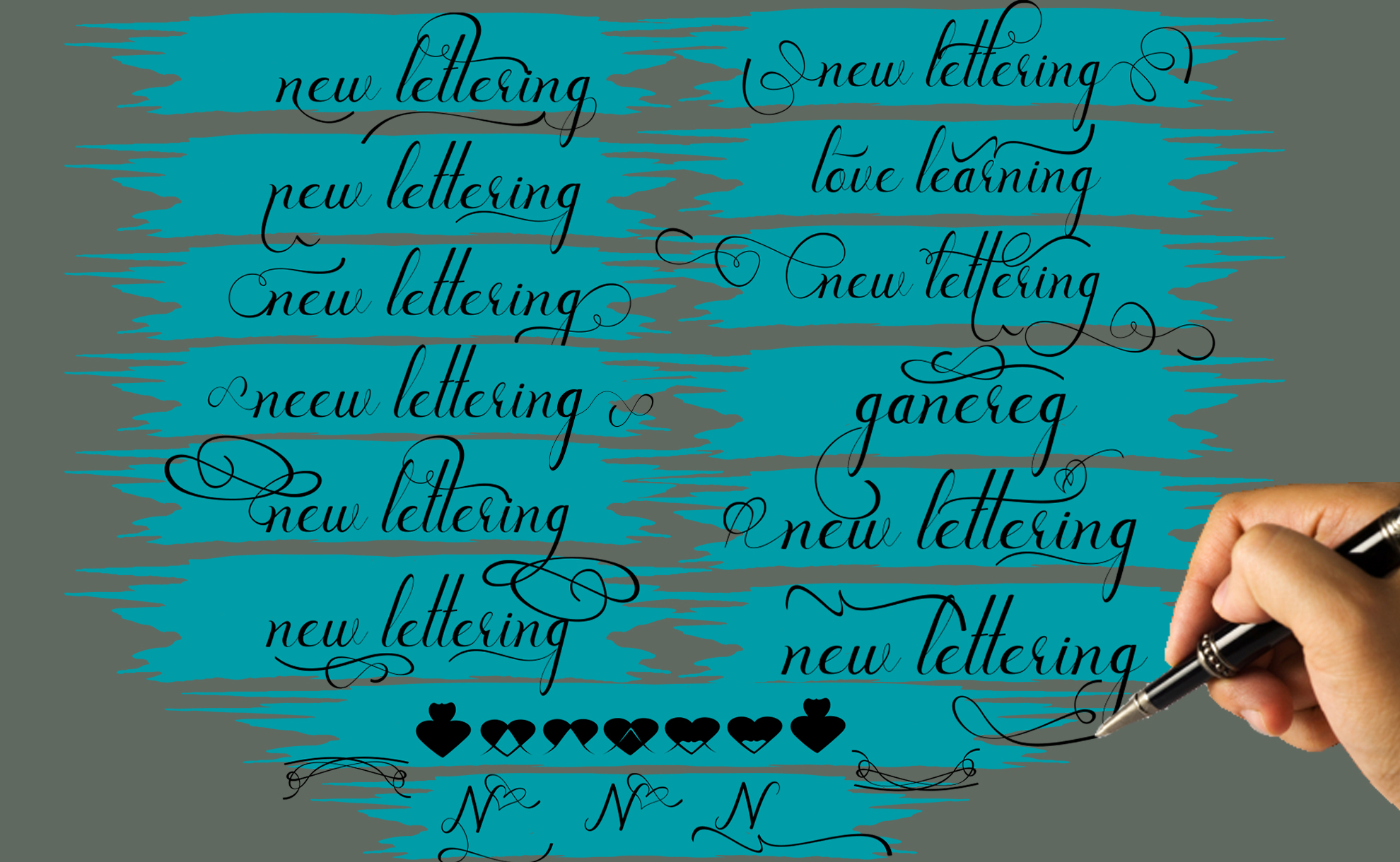 New lettering update example image 6