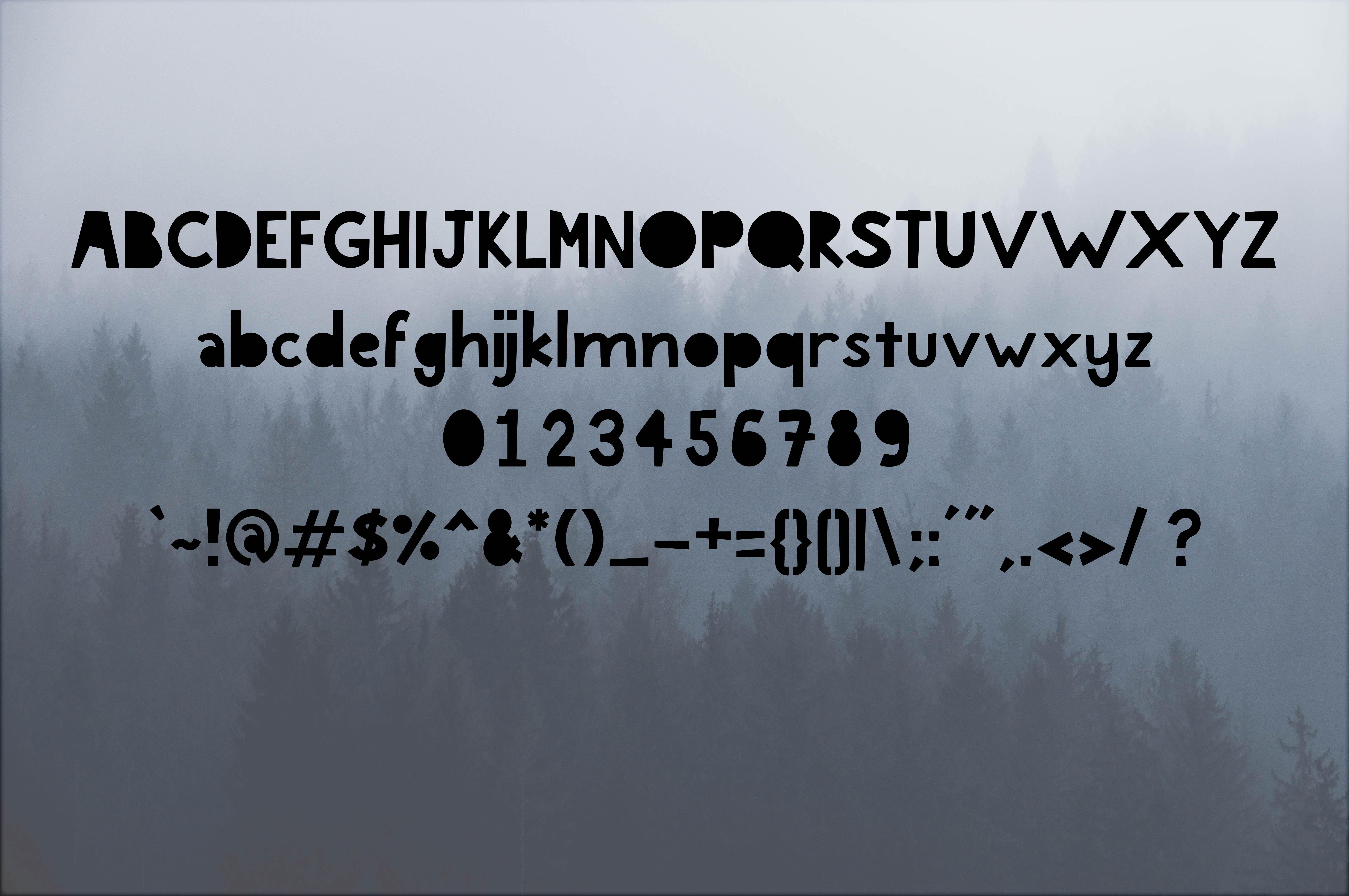 Deviate An Adventurous Font example image 2