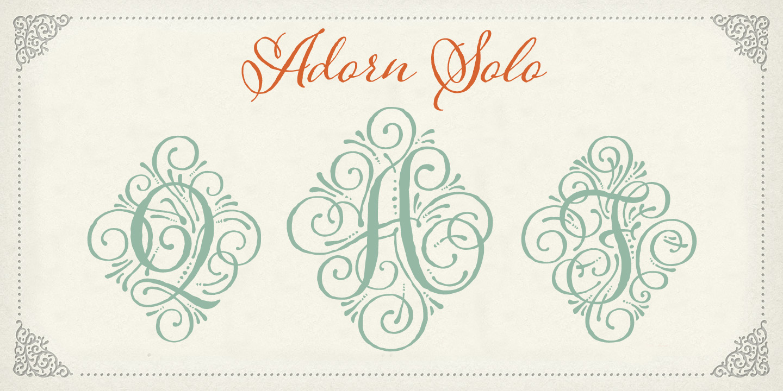 Adorn Solo example image 2