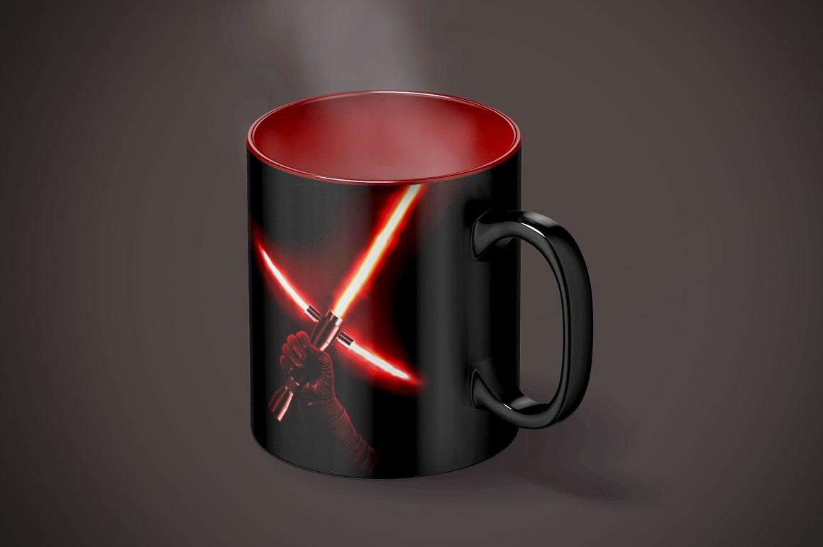 Magic Mug Animated Mock up (Color Changing Morphing Magical Mug Mockup) example image 9