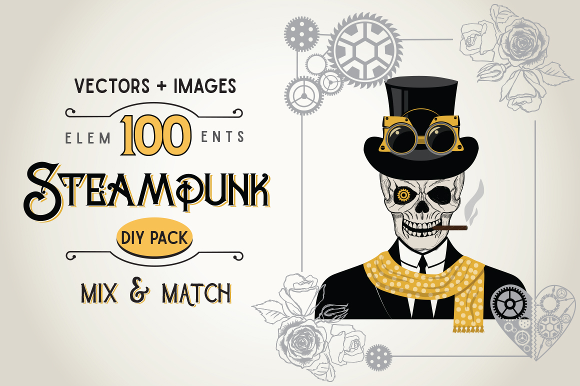 STEAMPUNK Bundle example image 1