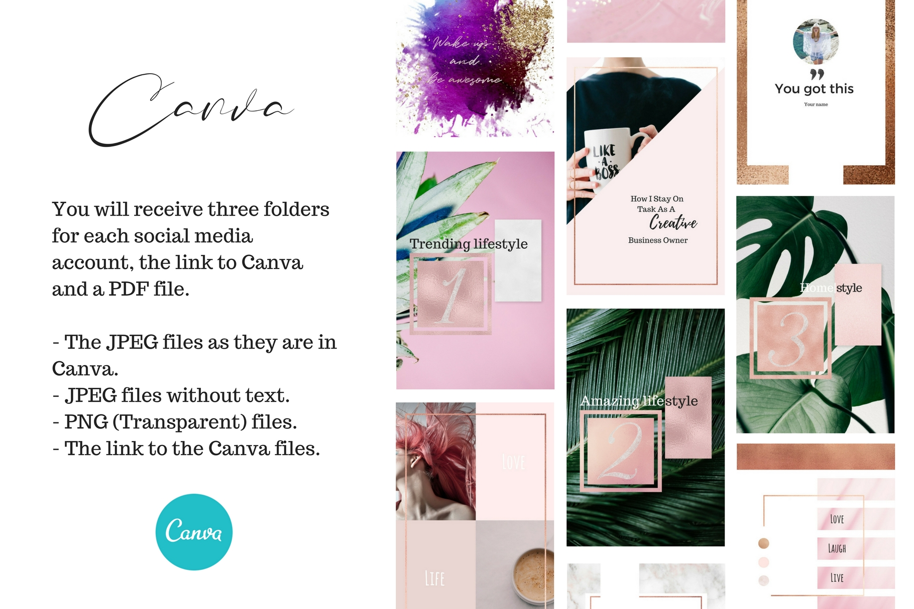 Canva for you - Social media example image 2