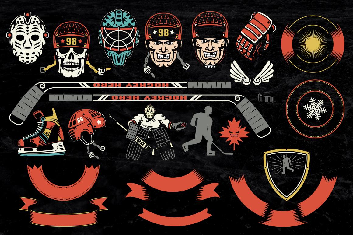 Hockey Dark Bundle example image 2