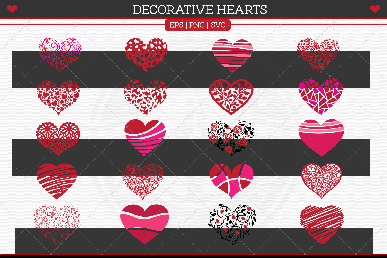 Decorative Hearts example image 3