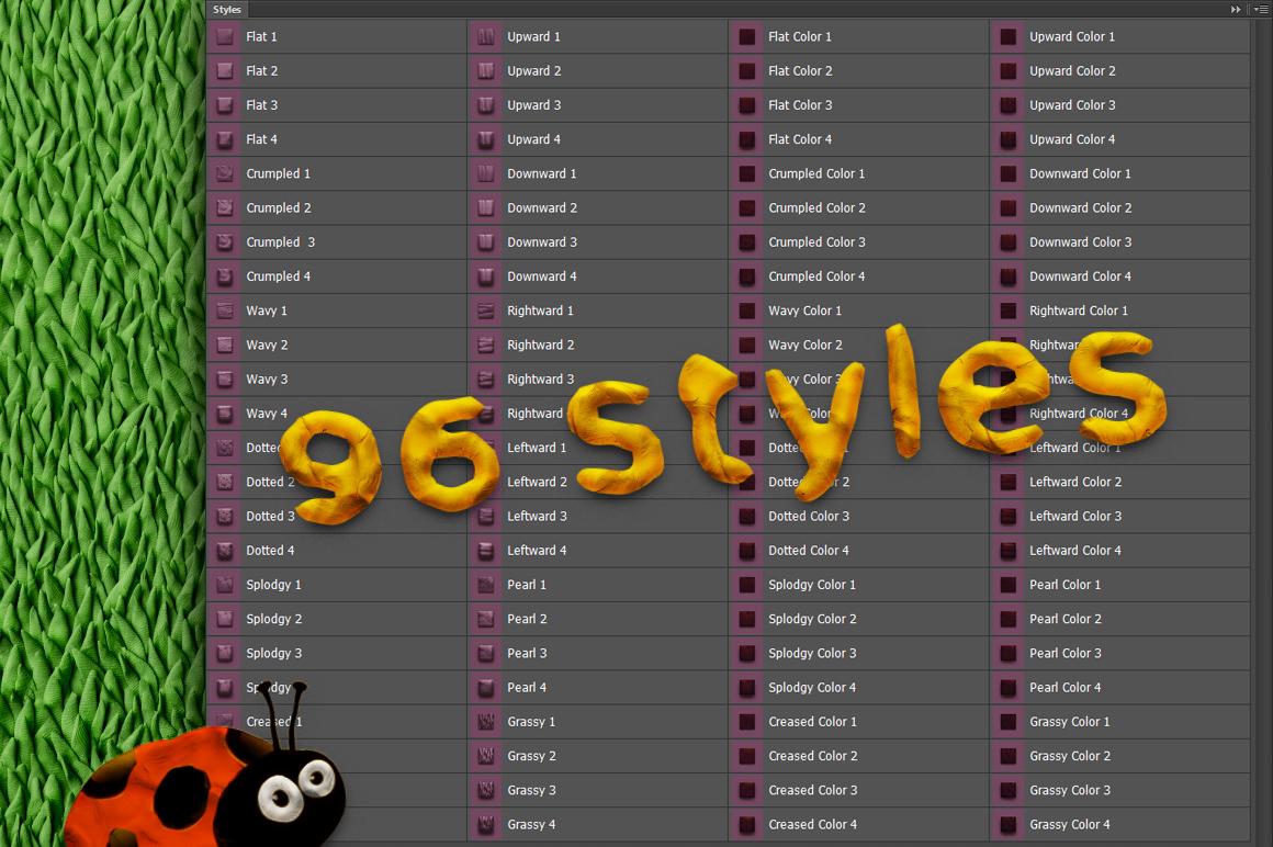 PLASTICINE Photoshop Toolkit example image 3