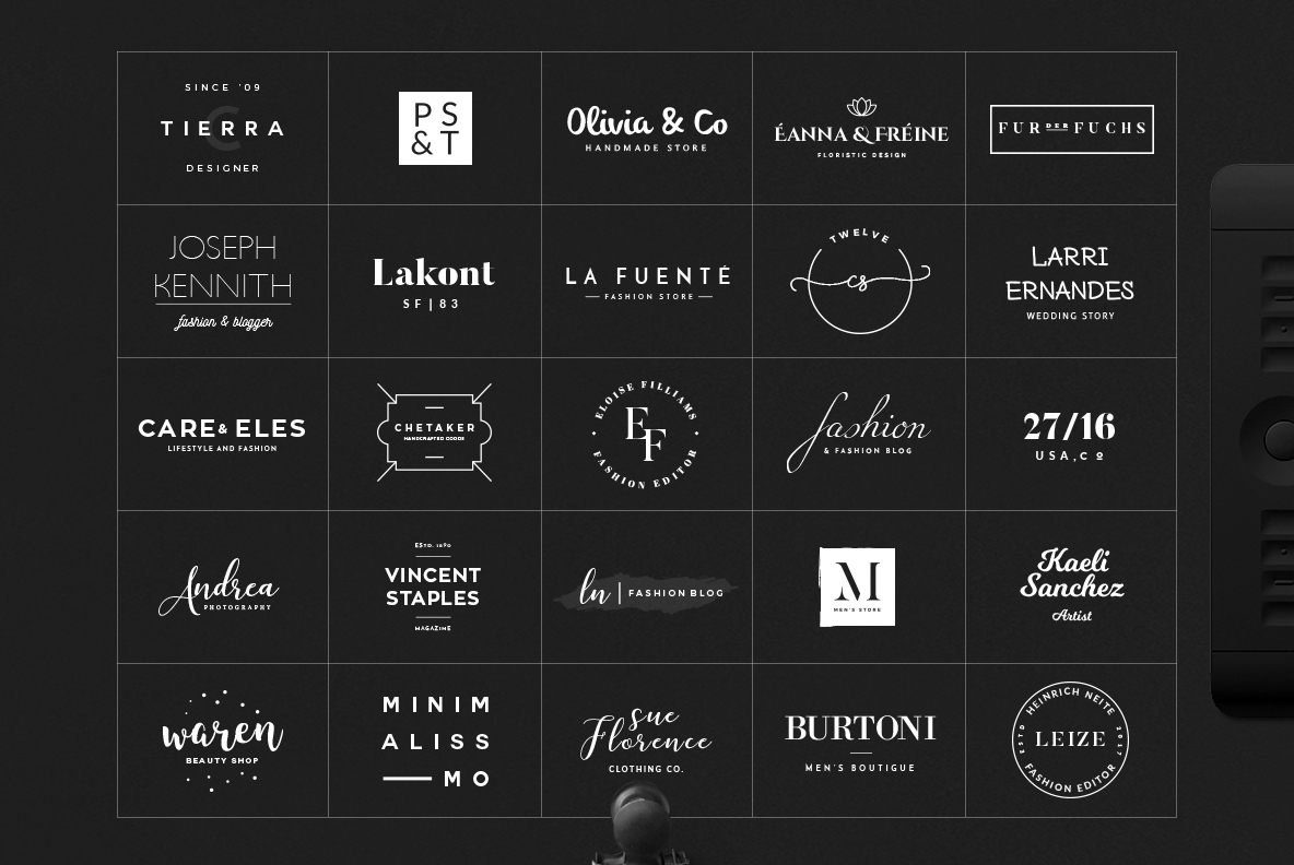 70 Elegant Logos (Extended License) example image 4