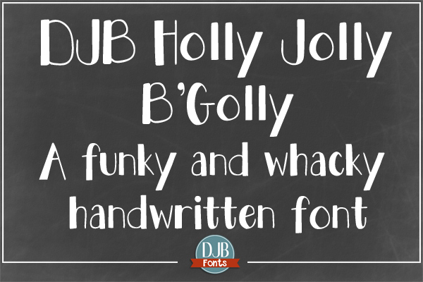 DJB Holly Sessions Font Bundle example image 7