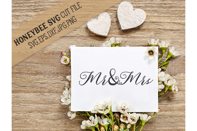 Mega Wedding Decor Bundle svg example image 13