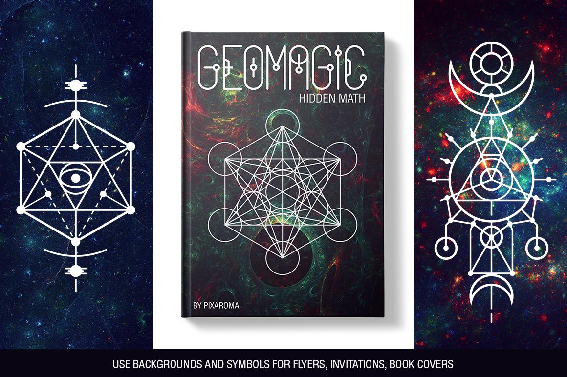 100 Sacred Geometry Symbols  example image 23