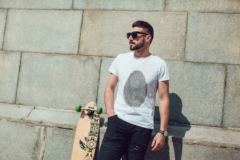 Men's T-Shirt Mock-Up Vol.3 2017 example image 18