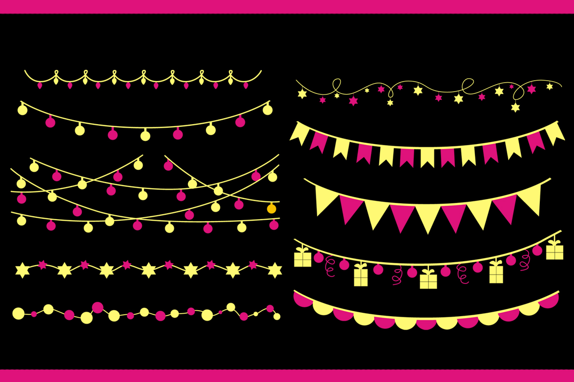 Christmas Light & Decoration strings example image 4