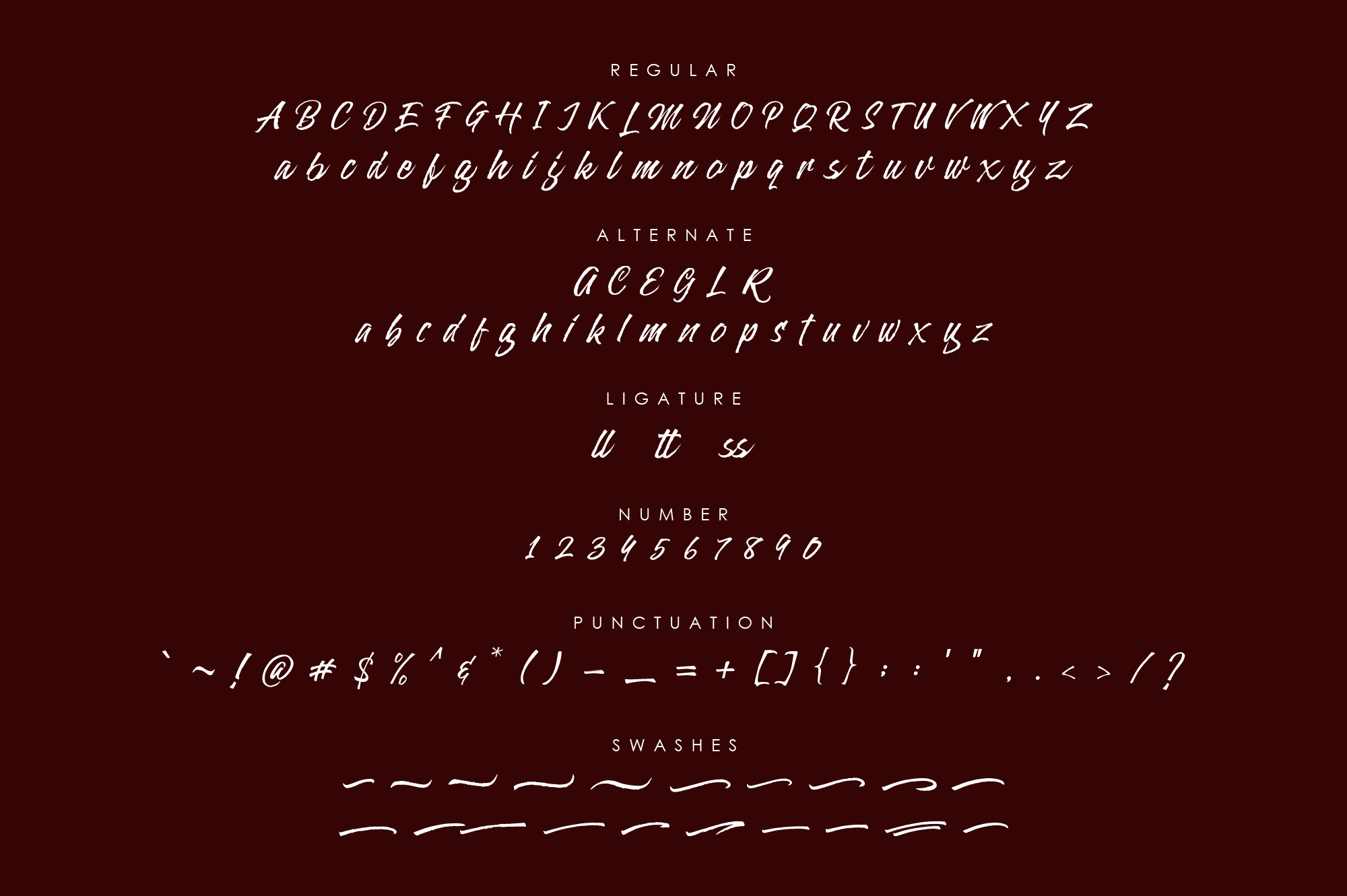 Alterlight - Free Font example 4