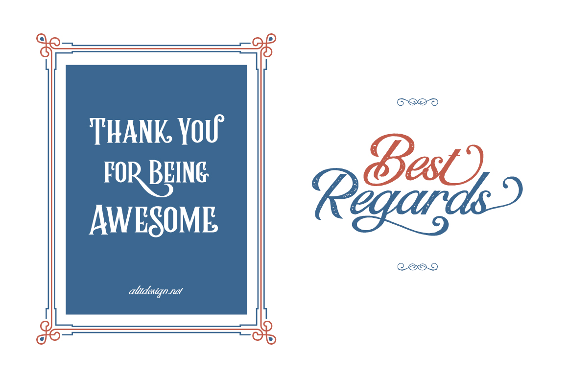 Rumble Brave Vintage Fonts example image 9