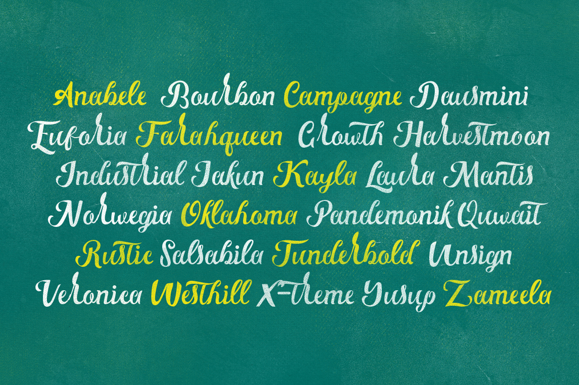 Gloster Typeface example image 6