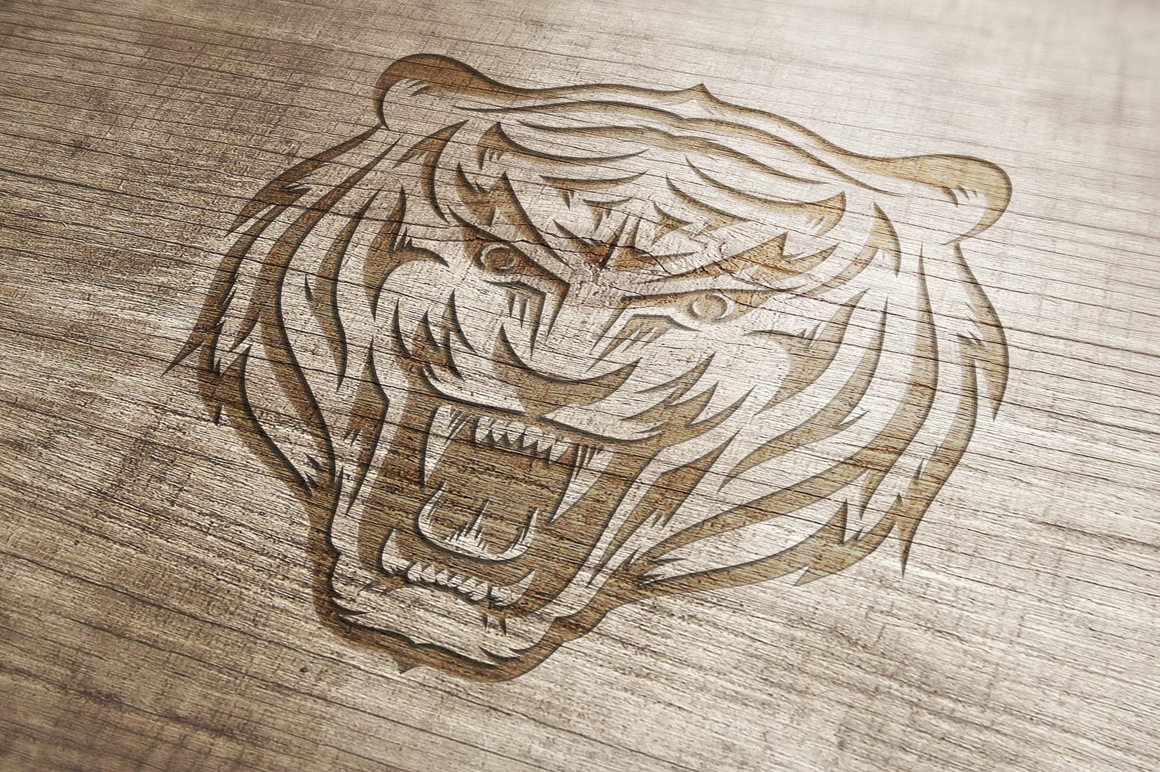 Tiger Mascot Template example image 5
