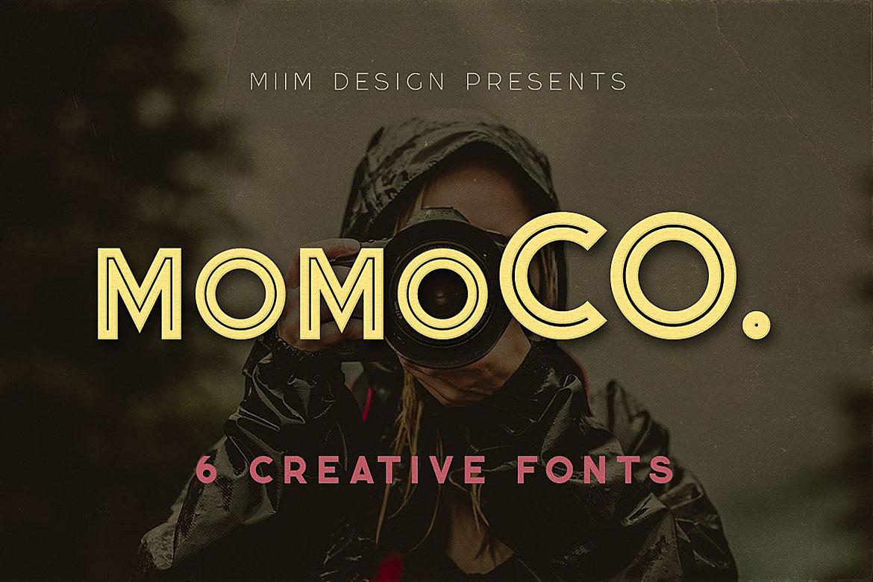 Momoco - Display Font example image 1