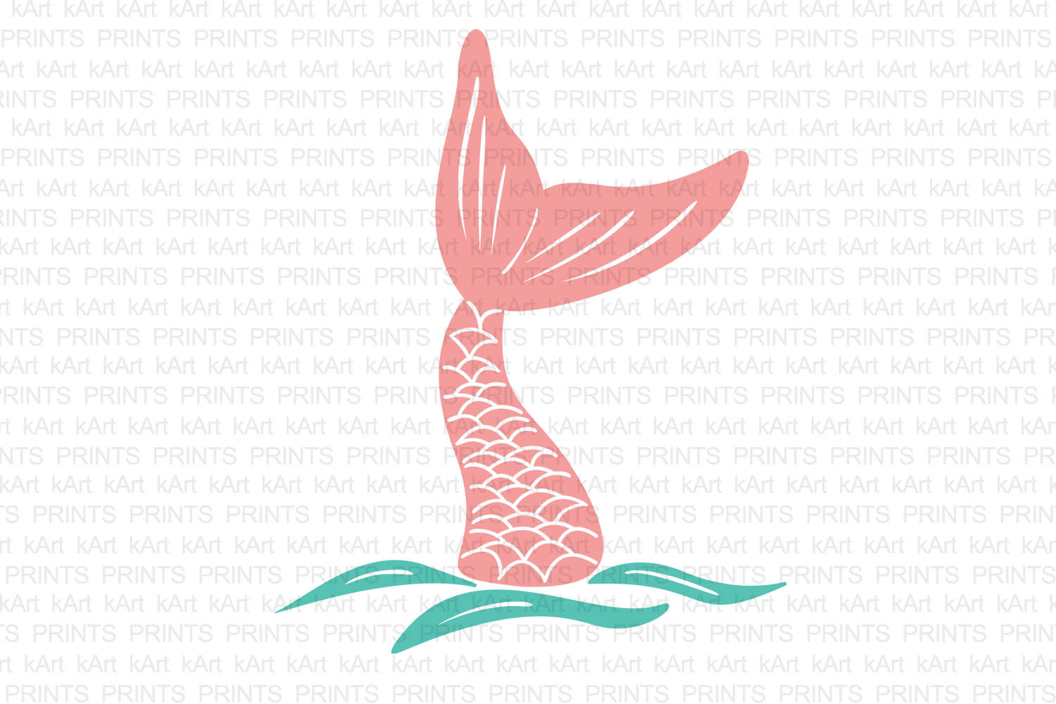 mermaid tail svg, hand drown mermaid tail, fish tail svg, mermaid iron on, hand drawn svg, hand drawn art, hand drawn logo, dxf, png, jpeg example image 1