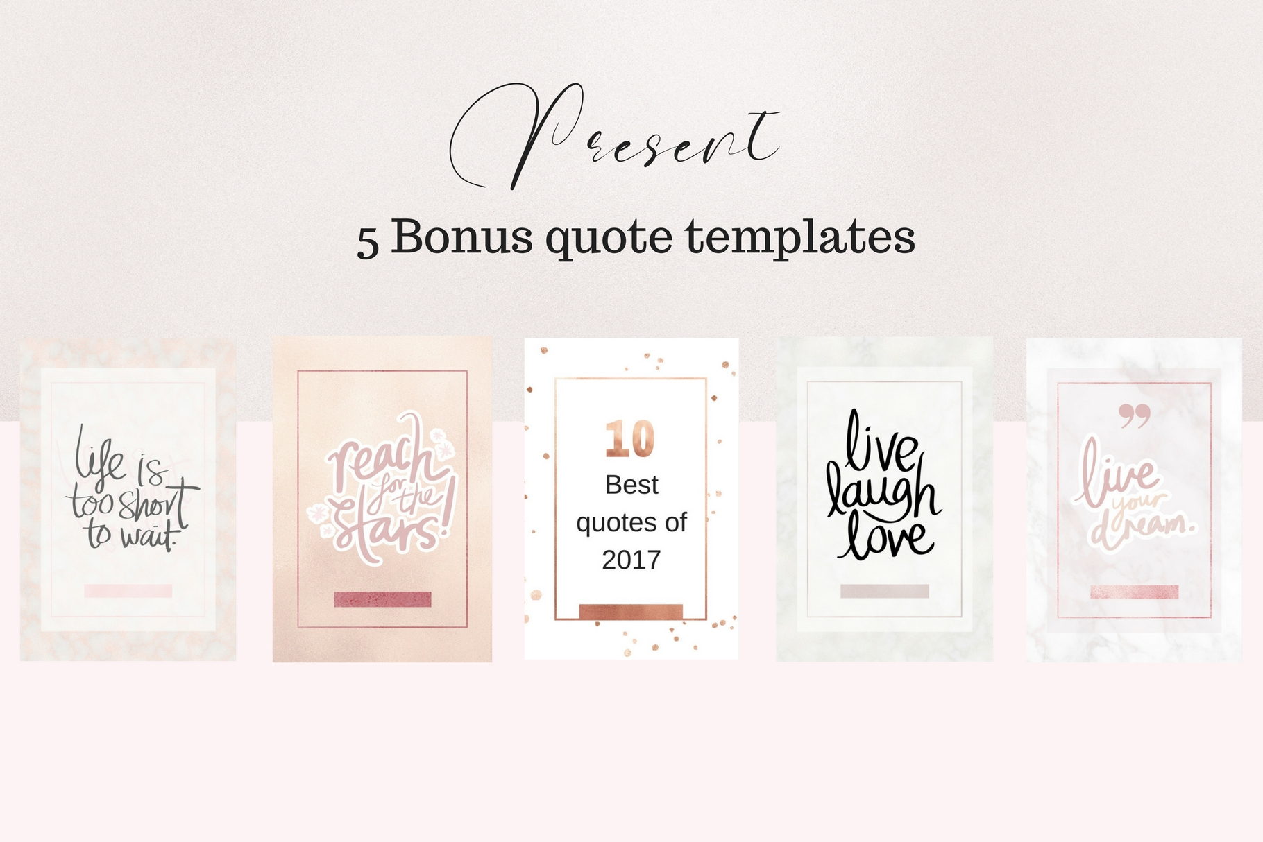 Pinterest rosé gold bundle example image 8